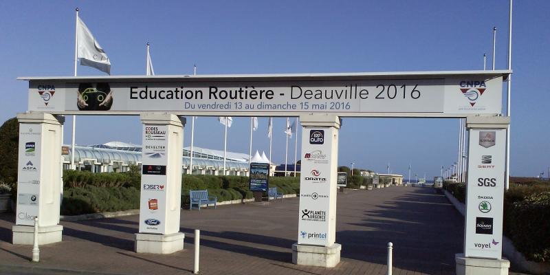 Entrée extérieure CNPA Deauville